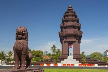 Independent Monument in Phnom Penh